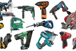 composite of several power tools