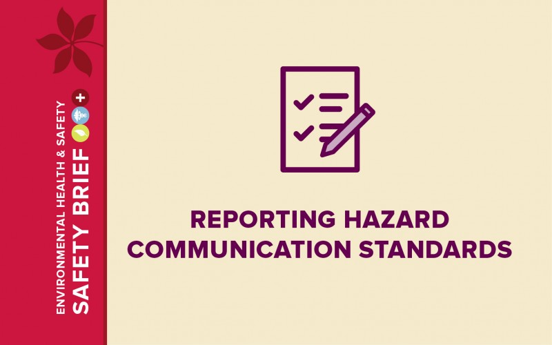All employees must be provided with effective information and training regarding hazardous chemicals in their work area prior to starting work.