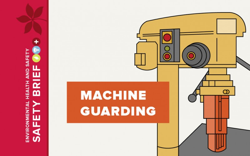 Graphic of a machine guard.