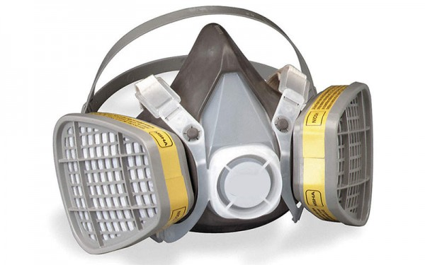 respirator that provides breathing protection
