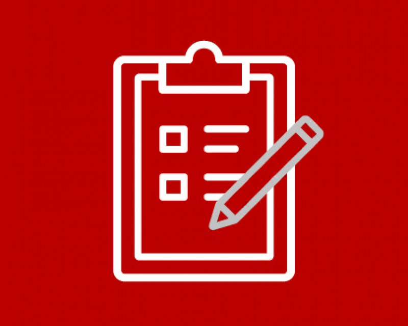 icon of a clipboard and pencil